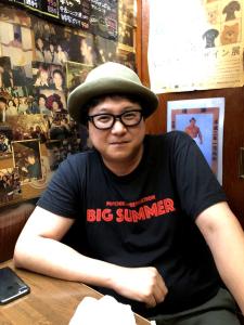 『映画版心霊調査ビッグサマー』上映会の寺内康太郎