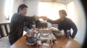 寺内康太郎と岩澤宏樹